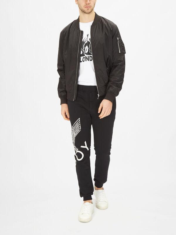 BBSG Nylon Bomber Jacket