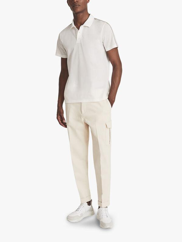 Kendal Cotton Pique Polo Shirt