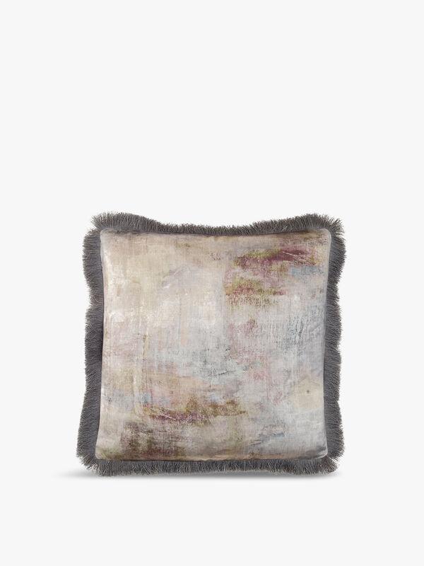 Monet Fringed Cushion