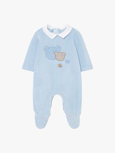 Velour-Teddy-Applique-Babygrow-2679-aw21