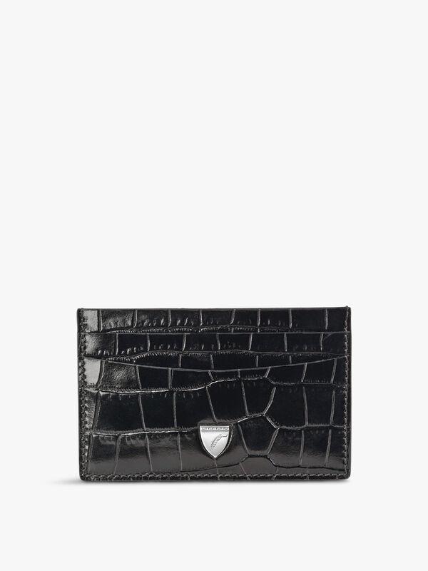 Slim Leather Credit Card Holder