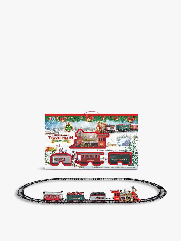 Christmas Travel Train Set with Music