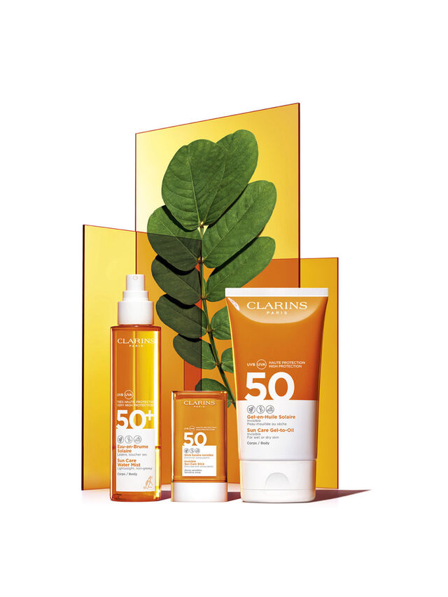 Sun Care Gel-To-Oil for Body SPF 50+