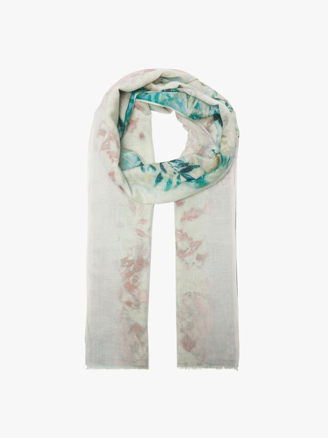 Leaves Stripe Scarf