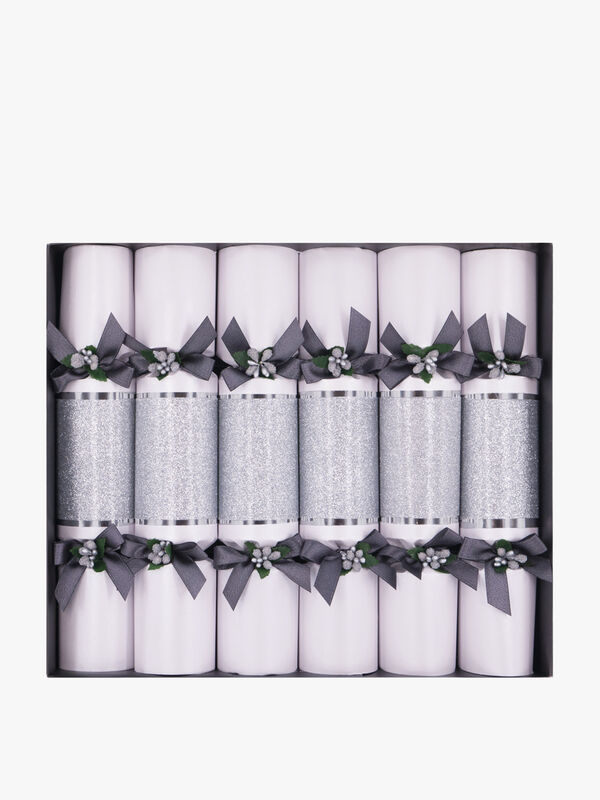 Silver Sparkle Crackers