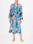 Hannah Turquoise Floral Print Wrap