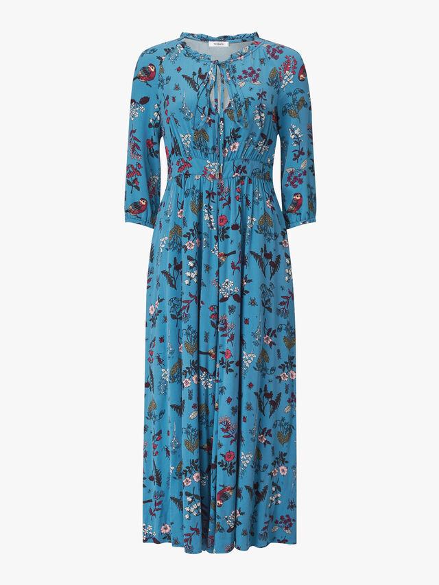 Denso Long Sleeve Maxi Dress