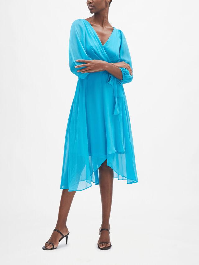 Floaty Wrap Dress