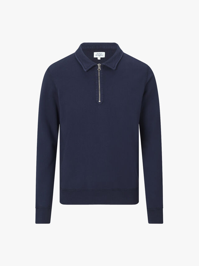 Polo Zipper Sweat