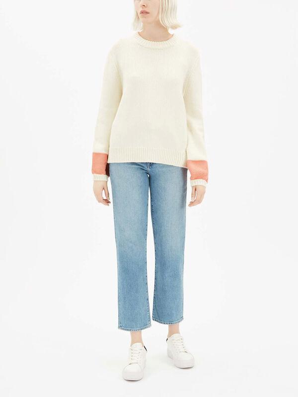 Pop Cuff Sweater