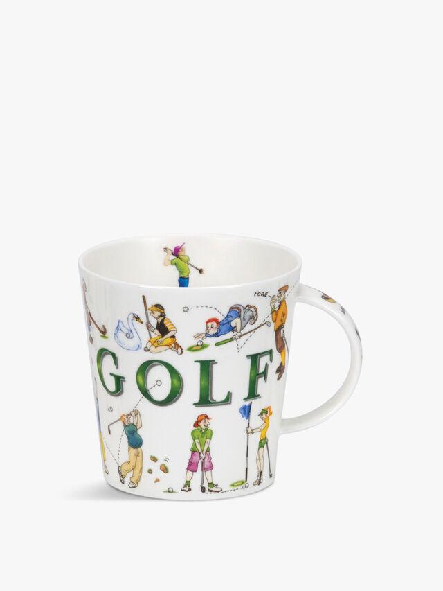 Cairngorm Sporting Antics Golf Mug