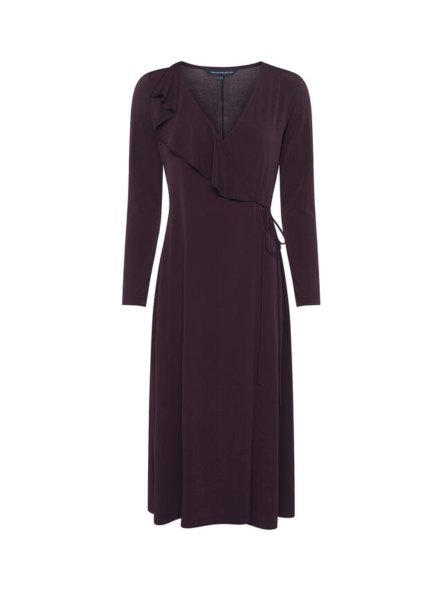 Tirsa Drape Front Dress