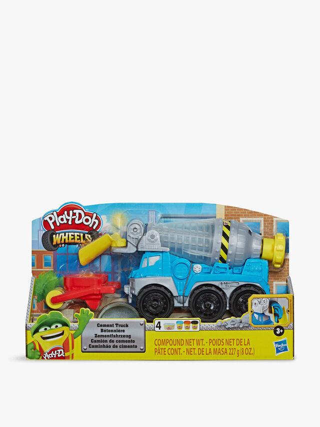 Wheels Cement Truck Set