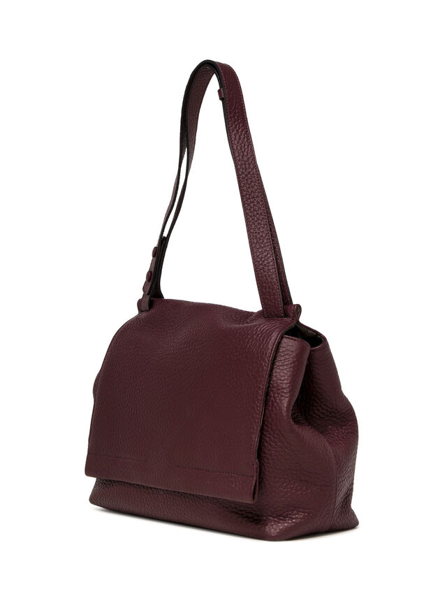 Ethna Large Flap Shoulder Bag