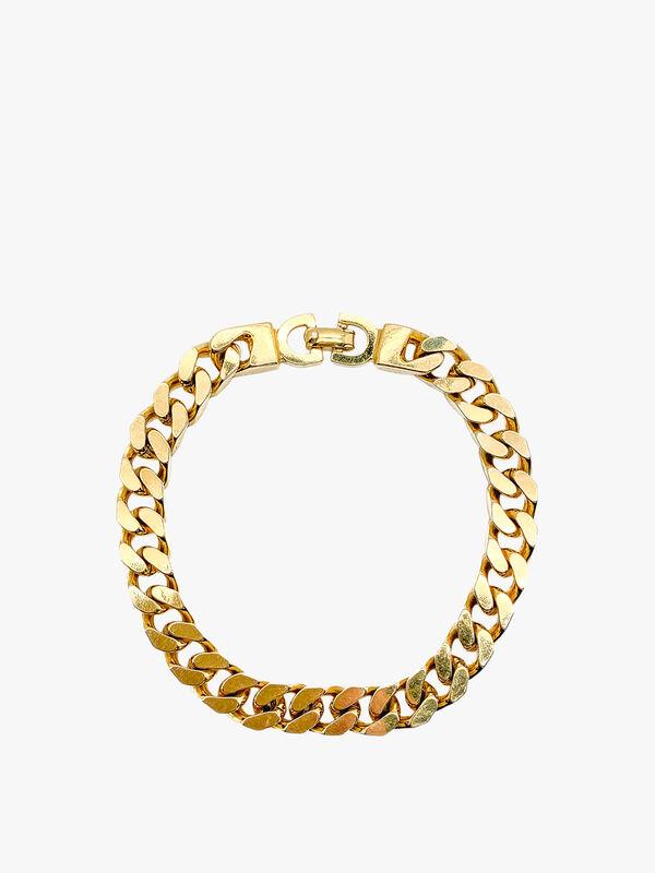Vintage Dior Flat Curb Bracelet