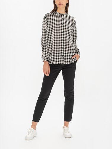 Ineo-Gingham-Mandarin-Collar-Shirt-1003198