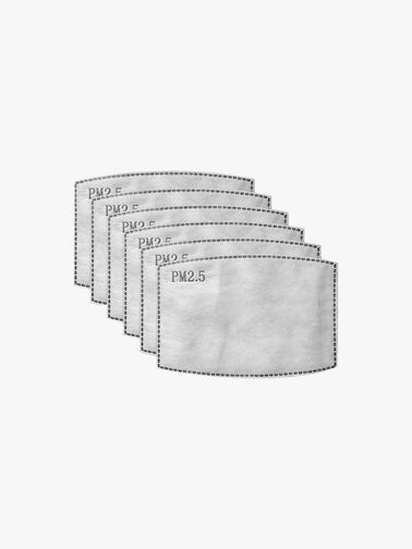 Mask Filters - Adults Pack of 6