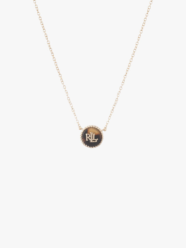 """16"""" Carded LRL Tort Pendant Necklace"""