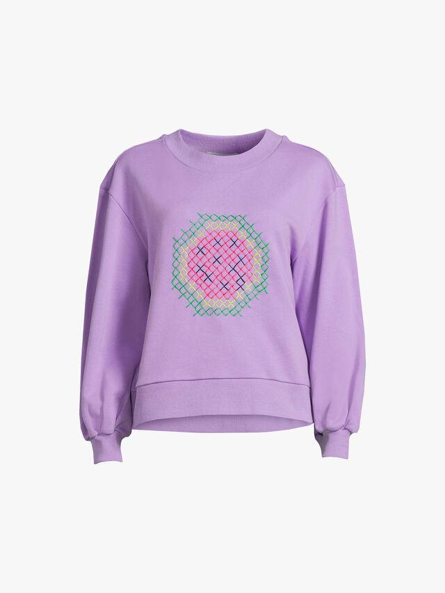 Cecilia Printed Sweatshirt