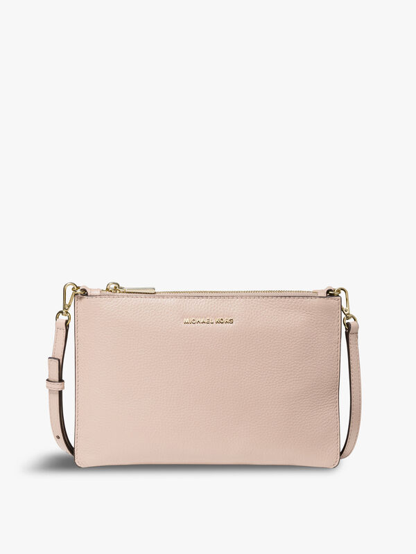 Large Double Pouch Crossbody