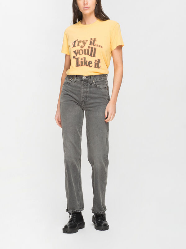 90s High Rise Loose Jean