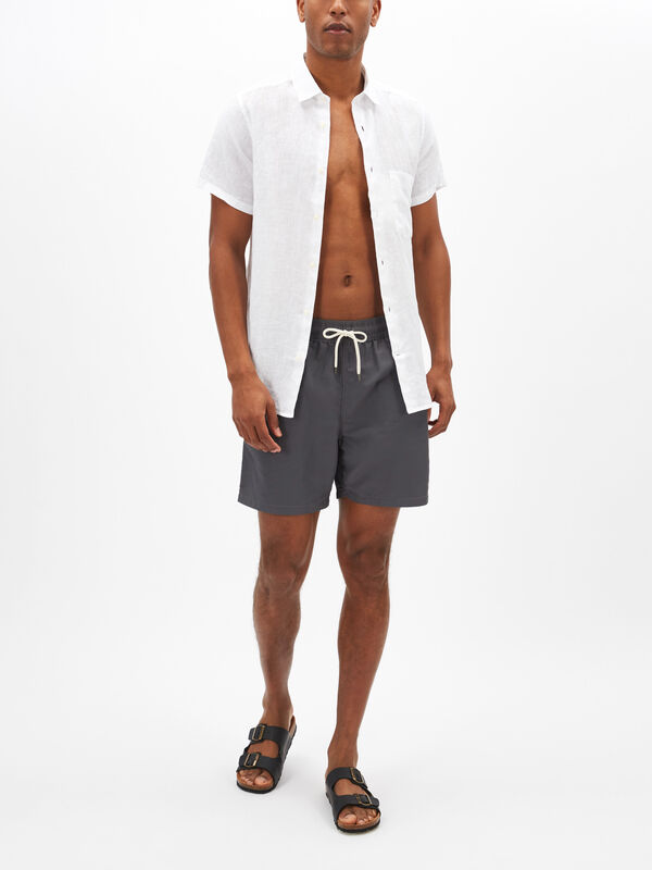 Plain Traveller Swim Shorts