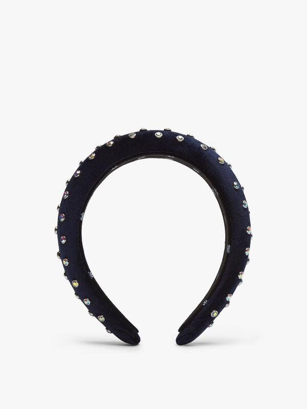 Crystal Padded Headband