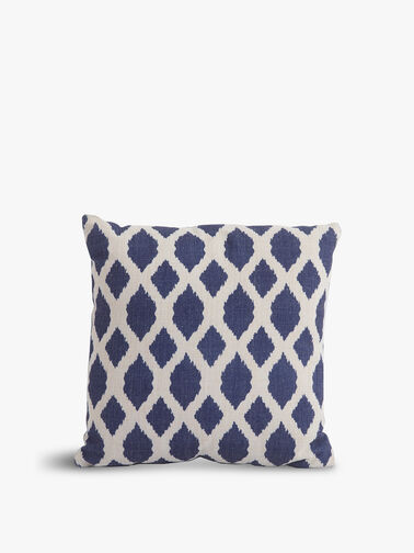 Blue Trellis Scatter Cushion