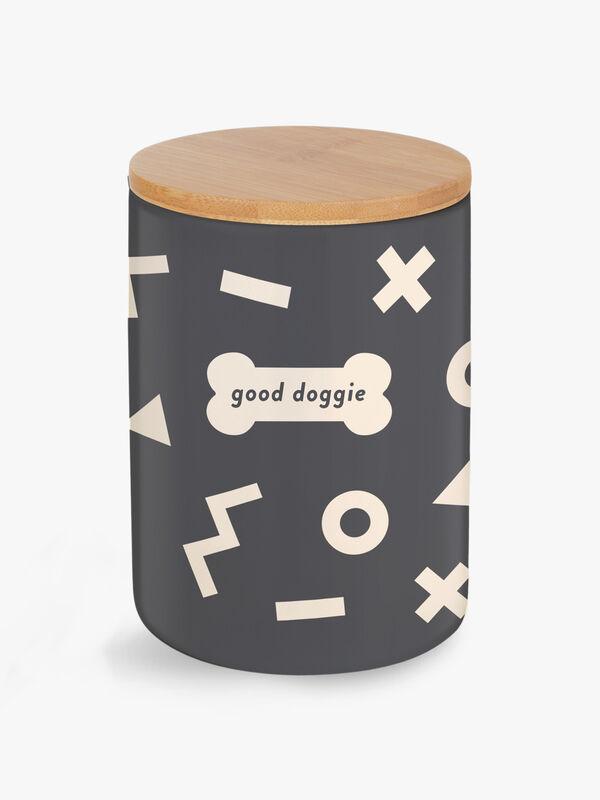 Good Doggie Treat Jar