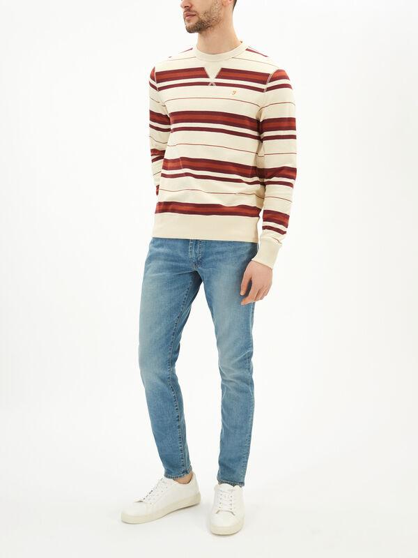 Noble Stripe Sweatshirt