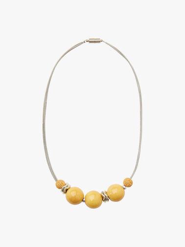 Cosmic Short Lava Bead Necklace