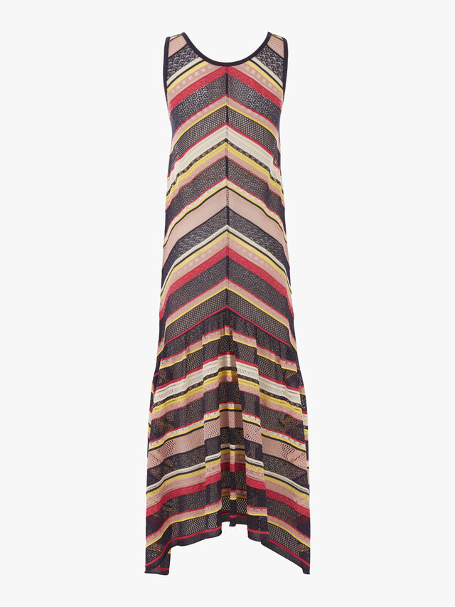 Pontile Knitted Maxi Dress