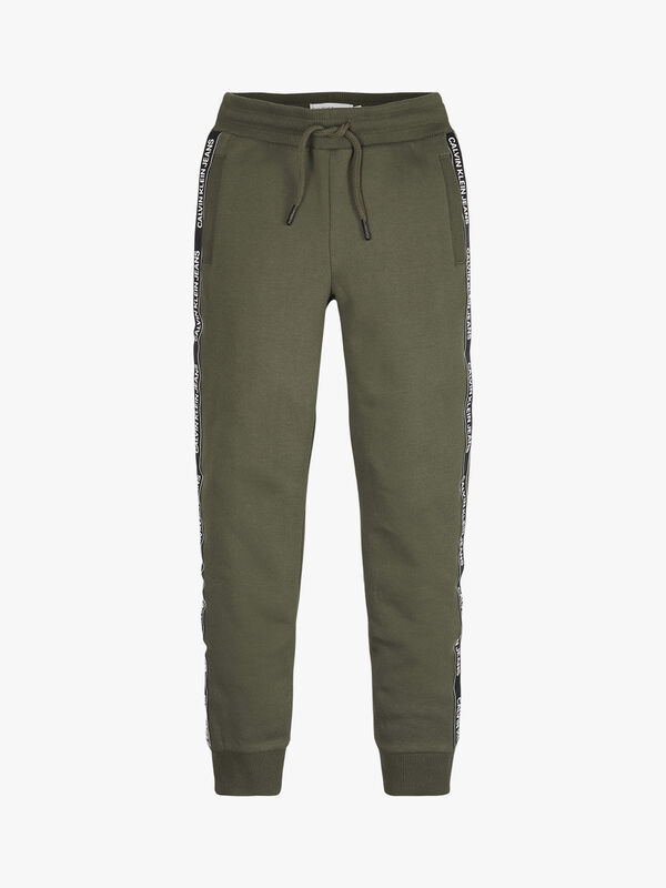 Side Logo Tape Sweatpants