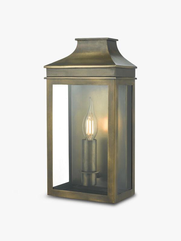 Vapour Coach Lantern Outdoor Wall Light