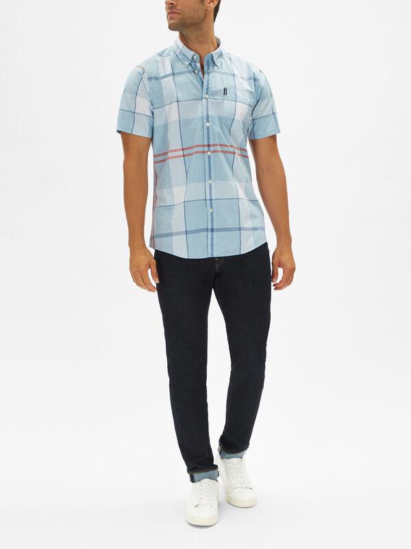 Croft Short Sleeve Check Shirt