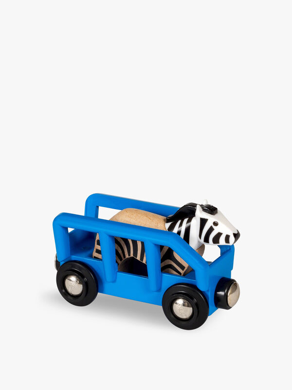 Safari Zebra & Wagon