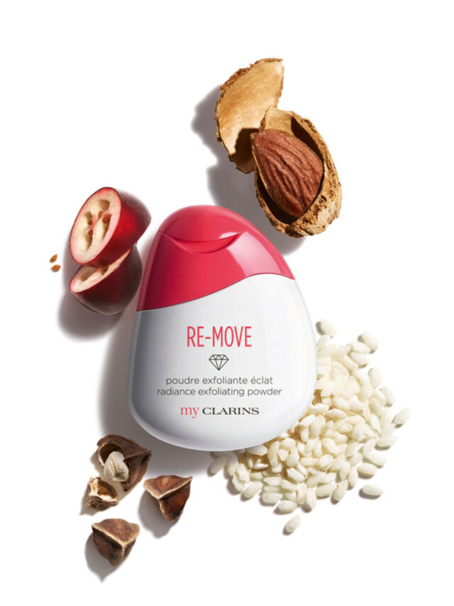 My Clarins RE-MOVE Radiance Exfoliating Powder