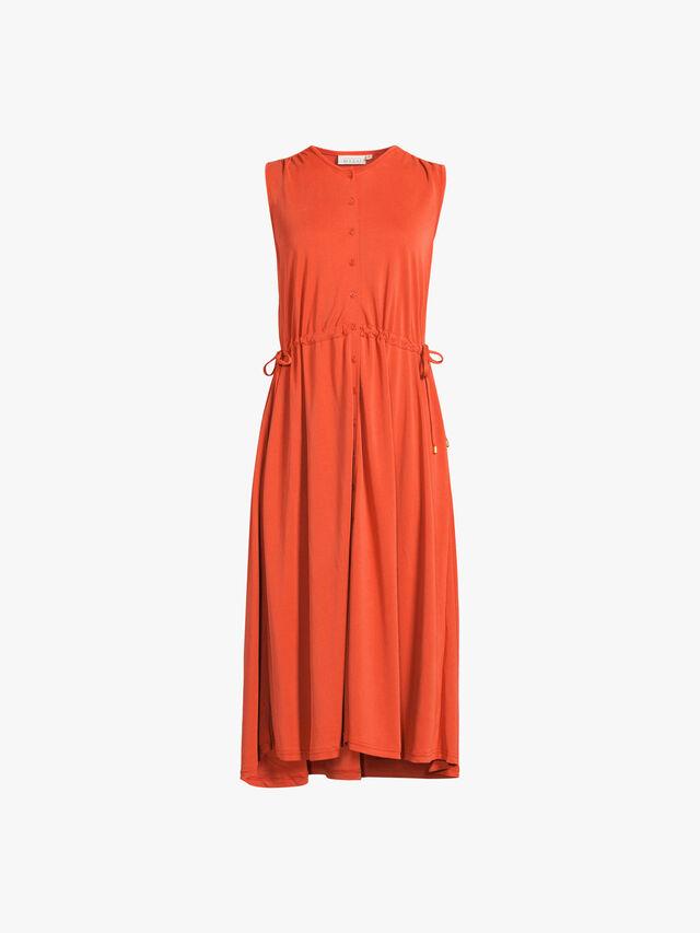 Ocilla Jersey Midi Shirt Dress