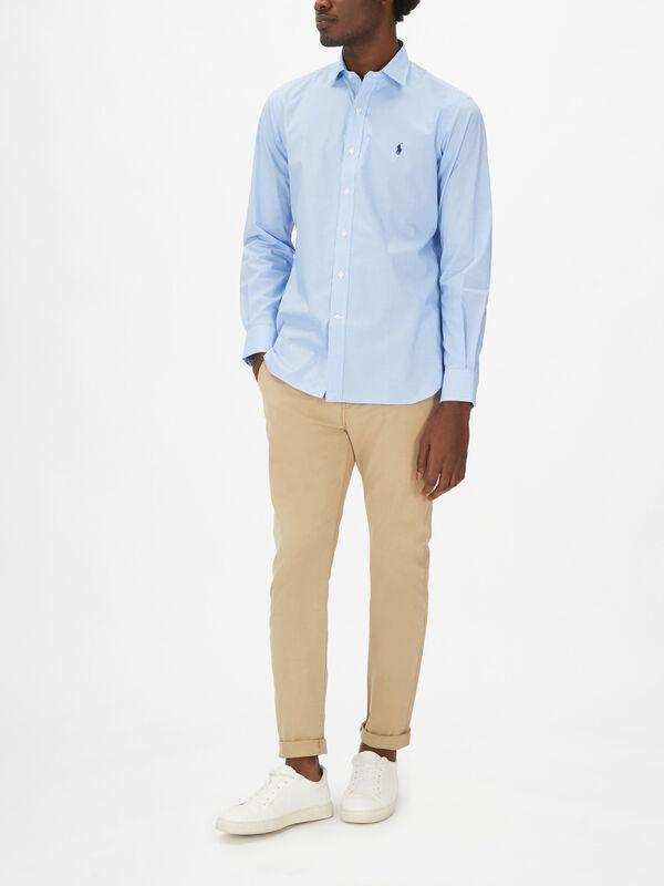Formal Gingham Shirt