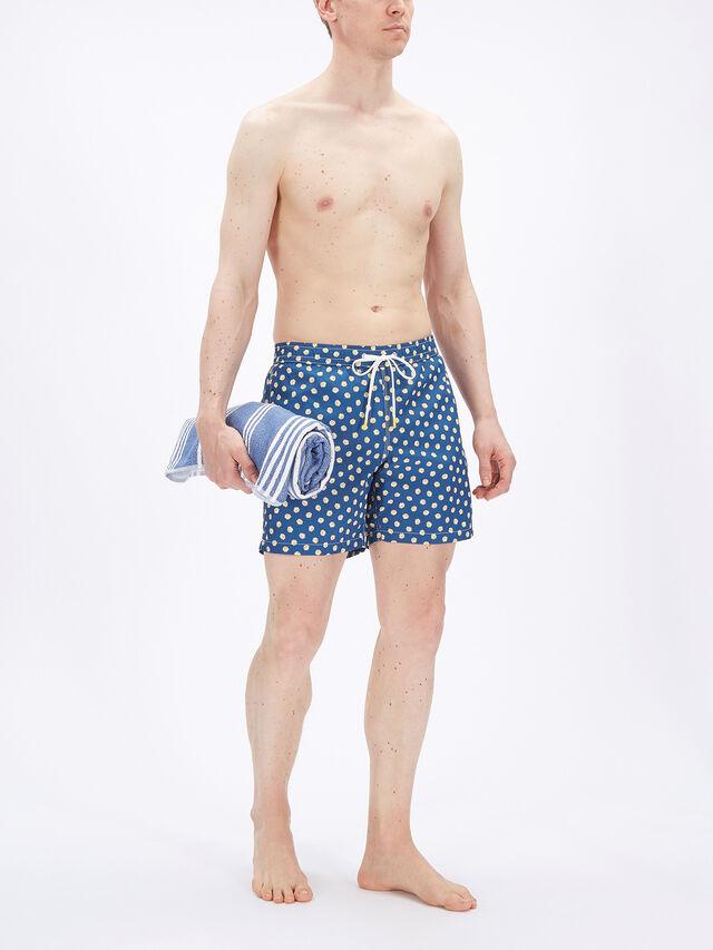 Daisies Print Swim Shorts