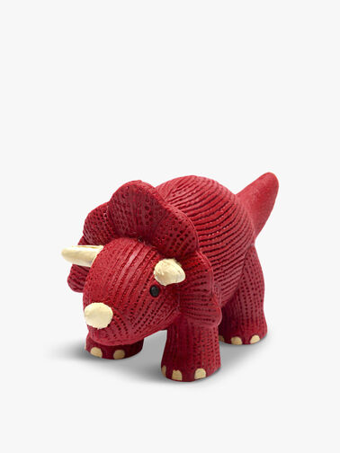 Rubber Mini Triceratops Teether