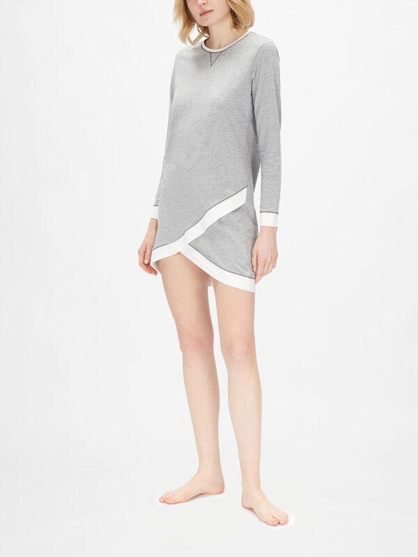 Aldercy Long Sleeve Nightshirt