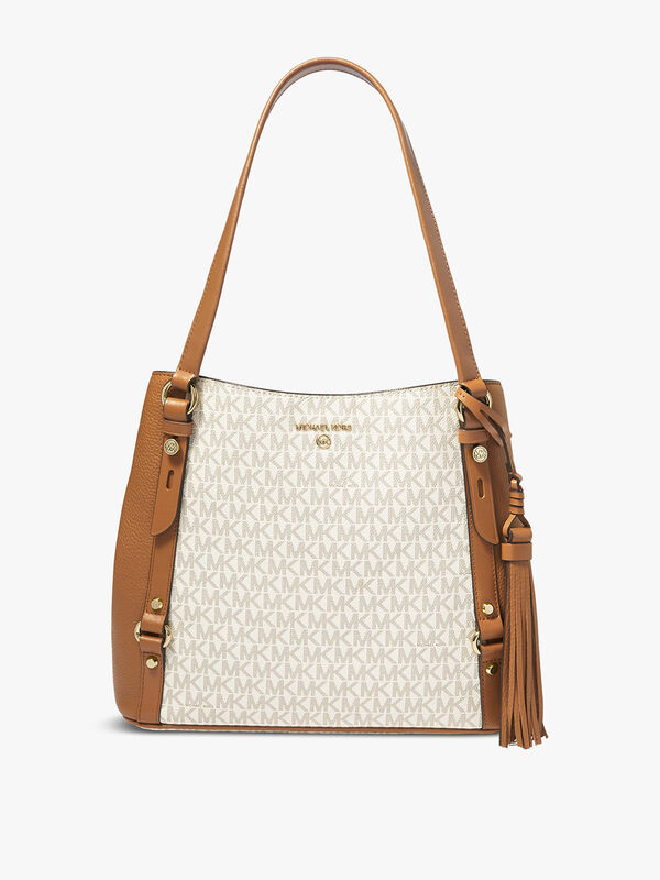 Carrie Signature Large Shoulder Tote