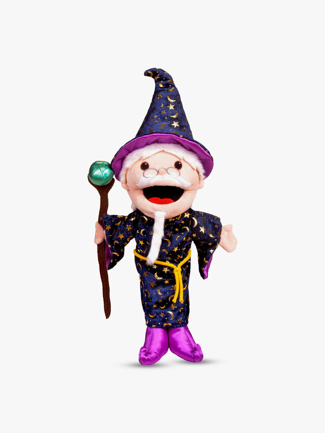 Moving Mouth Wizard Hand Puppet
