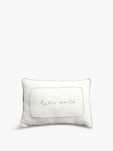 Welcome To The World Cushion