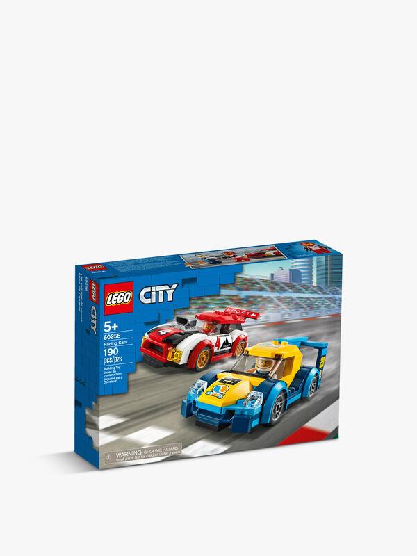 City Nitro Wheels Racing Cars Building Set