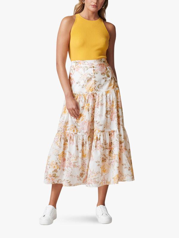 Fleur Tiered Maxi Skirt