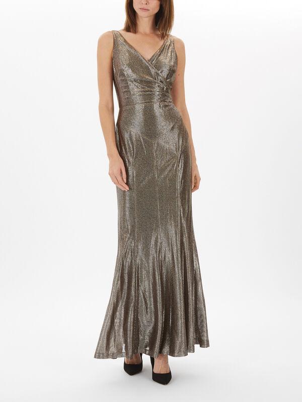 Aletheo Sleeveless Evening Dress