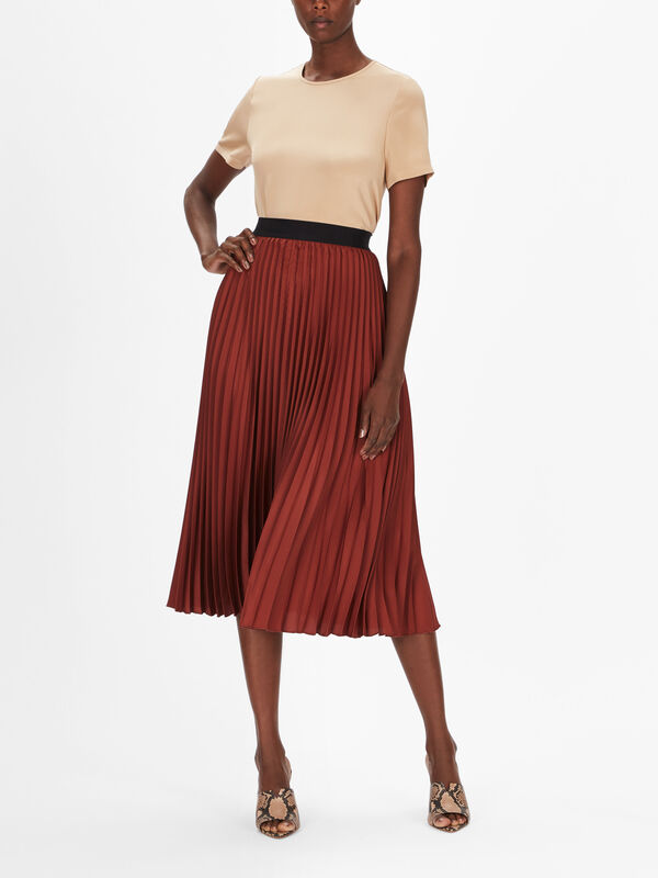 Andorra Pleated Skirt