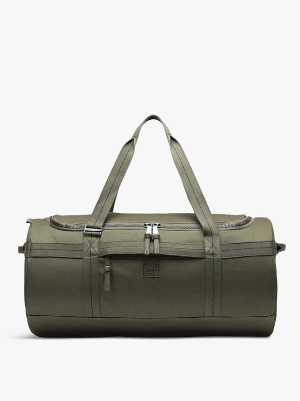 Sutton Canvas Military Barrel Bag